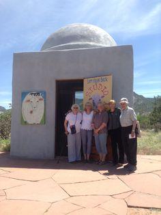 Dome at Los Silvestres - Popular Abiquiú, New Mexico artist Lori faye Bock's seasonal studio & gallery.