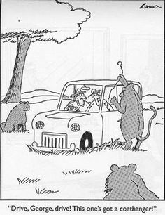 Who remembers these comics? Millions of people all over the world were fans of The Far Side! The Far Side was a single-panel comic created by Gary Larson Far Side Cartoons, Far Side Comics, Funny Cartoons, Funny Comics, Funny Jokes, Cat Comics, Laugh Cartoon, Cartoon Humor, Cartoon Cats