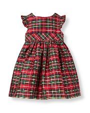 janie and jack xmas dress - so cute and classic
