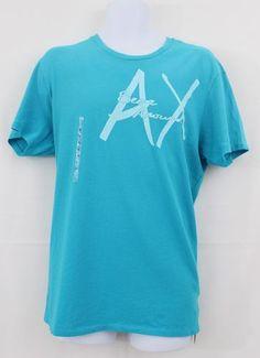 "ARMANI EXCHANGE Men's ""BEEN AROUND"" Logo T-Shirt"