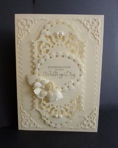 Cream Wedding by sistersandie - Cards and Paper Crafts at Splitcoaststampers