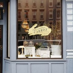 Revisiting one of my favorite #DSStorefronts of all time - @thegoldencarrothobo in Hoboken. The beautiful golden rabbit logo was designed by @dchanpong  (photo by @nicole_franzen ) by designsponge