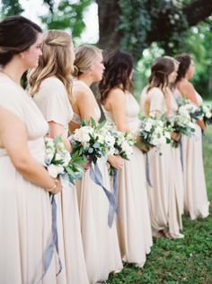 If you're the kind of bride who dreams of lush, organic florals, or of an utterly romantic gown to take your groom's breath away...this wedding is for you. Set it Kyle, Texas, it's an outdoor affair d...