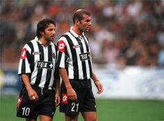 Dos Cracks, Alessandro Del Piero - Zinedine Zidane.