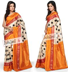 Ikat pure silk saree SKU: ISB5058 Contact : +918861255270 ishanisarees@gmail.com www.facebook.com/ishanisarees