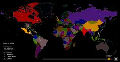 Map of everyone who's emigrated to the U.S. since 1820