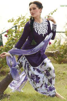Latest Casual Printed Daily Wear Salwar Kameez