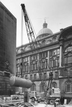 Working on the mersey tunnel ventilation shaft