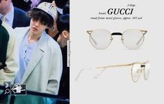 J-HOPE #BTS 180413 airport #JHOPE #제이홉 #방탄소년단  GUCCI Round-frame metal glasses  gift   from JaiHo_0218 pic.twitter.com/uKb8LHnGM6 Celebrity Fashion Outfits, Celebrity Style, Korean Fashion Men, Mens Fashion, Taehyung Gucci, Hope Fashion, Bts Clothing, Gucci Brand, Glasses Brands
