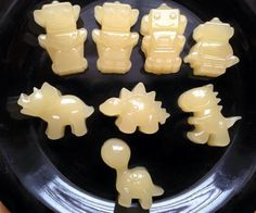 Breastmilk gummies: took out some frozen milk that I think was about 3oz or 1/3 cup & thawed it. On LOW heated a 1/3 cup filtered water with 3 tbsp. gelatin dissolving & stirring in the gelatin the best I could. Added some honey & stirred that in. The whole time I was able to touch it with my finger & it ws warm but not hot. Then poured into the bowl of thawed breastmilk stirring all together. Pour into molds of choice & put in fridge. After about 15min. you can pop them out & eat or store…