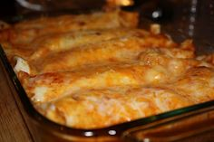 Chicken Enchiladas in a slow cooker - making this tonight for tomorrow's dinner