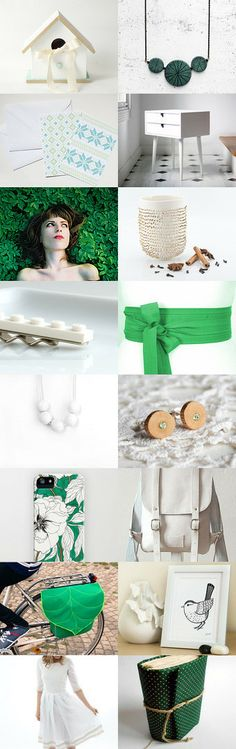 Green day by Alexa Brains on Etsy--Pinned with TreasuryPin.com