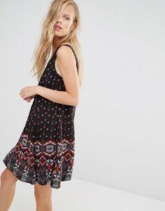 Pimkie Printed Sleeveless Dress