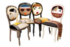 Playful chairs