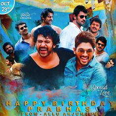 """Read more about Prabhas' look in 'Saaho' revealed on his birthday on Business Standard. """"Baahubali"""" star Prabhas, who turned 38 on Monday, gave his fans a gift -- the first look poster of multi-lingual action film """"Saaho"""". Prabhas Pics, Photos, Prabhas Actor, Allu Arjun Images, Beautiful Heroine, Most Handsome Actors, Lakshmi Images, 38th Birthday, Star Darlings"""
