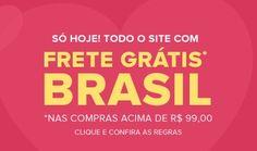 Compre hoje no Ponto Frio acima de R$99 e aproveite o Frete Grátis para todo o Brasil e ainda tem descontos para comprar o presente da sua mãe.