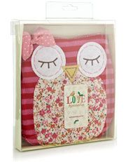 Love this #owl #hotwaterbottle! Shop #cosy #gifts at Accessorize, £18