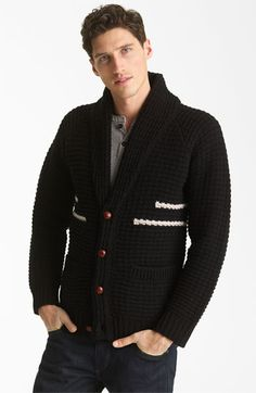 Pendleton Portland Collection 'Coos Curry' Lambswool Cardigan | Nordstrom