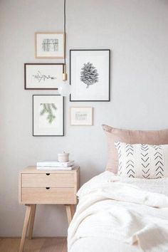 and beautiful wall decor featuring a pine cone. Professionally printed o. - decoracion casa - Stylish and beautiful wall decor featuring a pine cone. Professionally printed o. Gray Bedroom, Trendy Bedroom, Modern Bedroom, Contemporary Bedroom, Bedroom Frames, Simple Bedroom Decor, Single Bedroom, Bedroom Vintage, Bedroom Colors