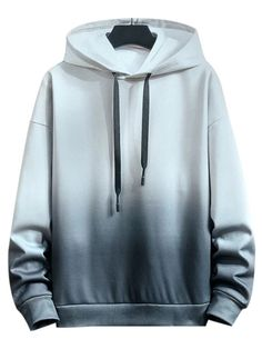 Hoodies and Sweatshirts For Men Online Dope Outfits For Guys, Casual Outfits, Fashion Outfits, Trendy Hoodies, Funny Hoodies, Bleach Dye Shirts, Tie Dye Hoodie, Mens Sweatshirts, Black Hoodie