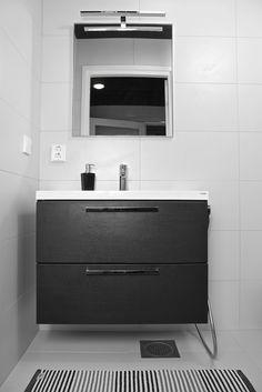 House2 kylpyhuone - bathroom Bathroom Lighting, Vanity, Mirror, Furniture, Home Decor, Bathroom Light Fittings, Dressing Tables, Bathroom Vanity Lighting, Powder Room