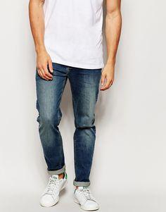 ASOS+Stretch+Slim+Jeans+In+Dark+Wash