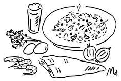 くん製魚アドックで、辛さ控えめのドライカレー。 | OVNI| オヴニー・パリの新聞