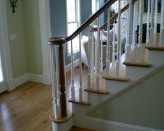 Stairways In Homes | Railing spindles - iron stair balusters