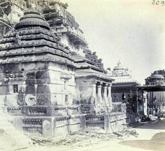 Here is a compilation of some very old photos and paintings of Jagannatha Puri, in Orissa. Many of these photos were taken by William Henry Cornish around Hindus, Rare Photos, Old Photos, Krishna, Jagannath Temple Puri, Archaeological Survey Of India, Lions Gate, Indian Temple, Vintage India