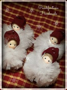 Christmas Gnome, Christmas Bells, Christmas Goodies, Christmas Crafts, Christmas Decorations, Xmas, Christmas Ornaments, Arts And Crafts Projects, Hobbies And Crafts