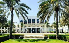 The Chedi Muscat, Oman © Nedzad Hujdurovic The Chedi Muscat, Hotels, Mansions, House Styles, Last Minute Vacation, Travel, Mansion Houses, Manor Houses, Fancy Houses