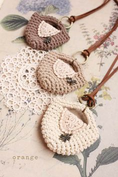 crochet minibag