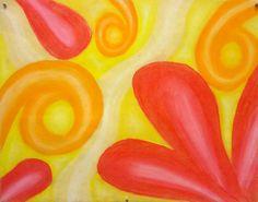 Swirly chalk pastels!