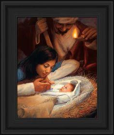 LDS Art - Christmas & Nativity — Altus Fine Art John 12 46, Jesus In The Temple, Framed Art, Framed Prints, Lds Art, Jesus Pictures, Family Pictures, The Shepherd, Light Of The World