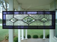 Hey, I found this really awesome Etsy listing at https://www.etsy.com/listing/162509665/stained-glass-purple-beveled-diamond