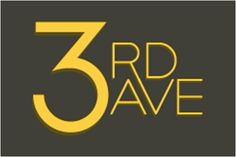 3rd Ave will be Burlington's downtown walking retail district. The logo was designed with an eye towards signage impact... 3rd Ave won't be a 'strip mall' style retail center, it's a natural road, plugged into a natural, existing network of streets so we wanted the logo and brand to seem less contrived than they old-time, throw-back cursive logos that most competitors use.
