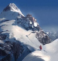 The Dalai Lama's home in Tibet...