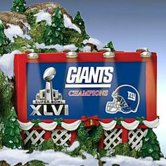 NFL Crystal Snowmen and Train Accessories - carosta.com