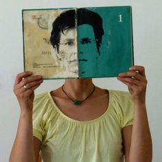 showing two pages of me. Ines Seidel