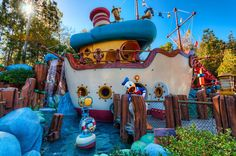 No One But Donald Duck - in Mickey's Toontown at Disneyland