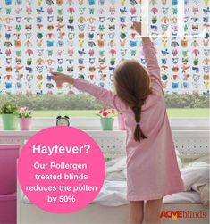 1 in 4 people suffer with Hayfever. The unique Pollergen formula treated blind will de-nature up to of the pollen coming into your room. Panel Blinds, Roman Blinds, Blinds For Windows, Roller Blinds, Dublin, Fabrics, The Unit, Treats, Unique