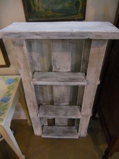 Latest repurposed pallet shelf