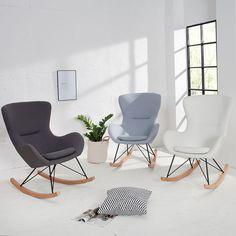 Design Schaukelstuhl SCANDINAVIA SWING FARBWAHL Polsterstuhl Stuhl Ohrensessel | Möbel & Wohnen, Möbel, Stühle | eBay!