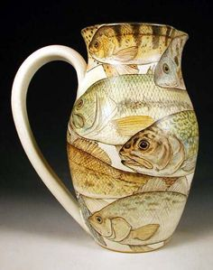 this pitcher should make you want to get out your fishing rod and get in a canoe.