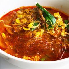 @wina_wina;spicy beef soup