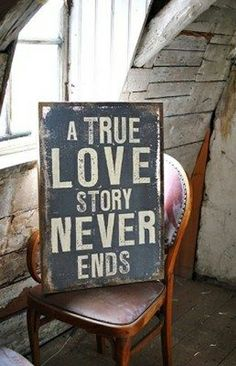 a true love story never ends #YouQueen #quote