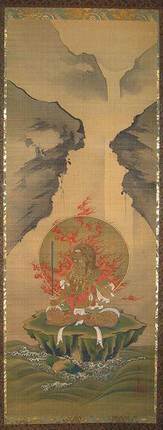 Fudo Myoo by Tanaka Hoji (1813-1885)
