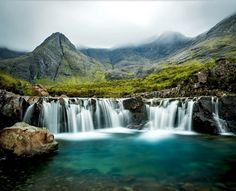 Stunning view of Fairy Pools, one of the most visited tourist attractions in Scotland | 10 Reasons Why Scotland Must Be On Your Bucket List
