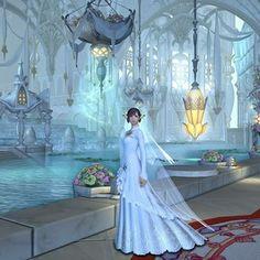 ffxiv wedding dress - Google Search