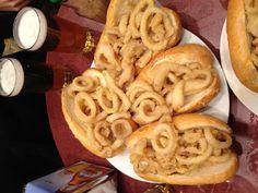 Bocadillos de calamares -- a well-loved fave at Campana, Madrid